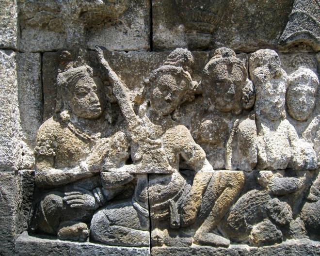 Borobudur_Keris